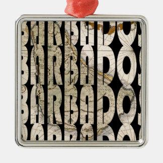 barbados1758 メタルオーナメント