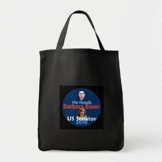 Barbara Boxer 2010のバッグ トートバッグ