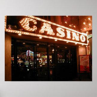 Barbary海岸のラスベガスのカジノの入口ポスター ポスター
