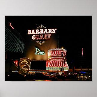 Barbary海岸のラスベガスポスター ポスター