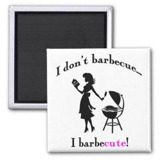 BarbeCUTE! バージョン2磁石 マグネット
