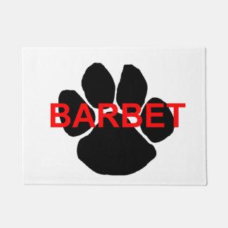 barbetの一流の足 ドアマット