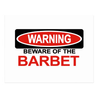 Barbetの用心して下さい ポストカード