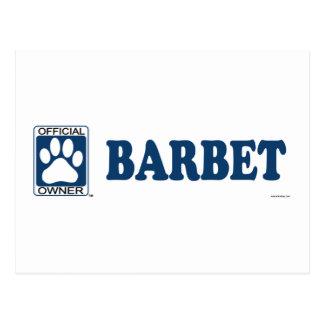 Barbetの黒 ポストカード