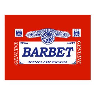 Barbet ポストカード