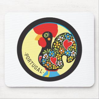 Barcelos Nr 06の有名なオンドリ マウスパッド