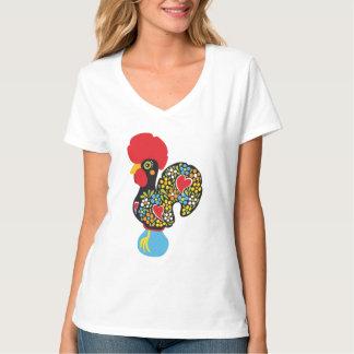 Barcelos Nr 06の有名なオンドリ Tシャツ