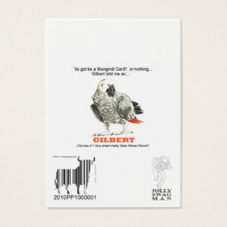 barcode1のjollyswagman、modelOFPARROT チャビ―名刺