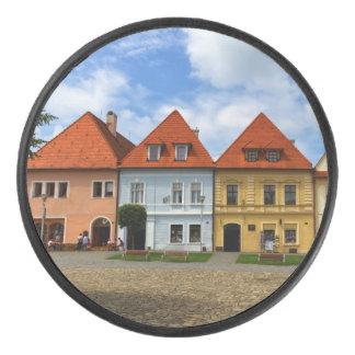 Bardejov、スロバキアの古いタウンハウス アイスホッケーパック