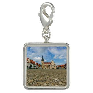 Bardejov、スロバキアの古い町の広場 チャーム