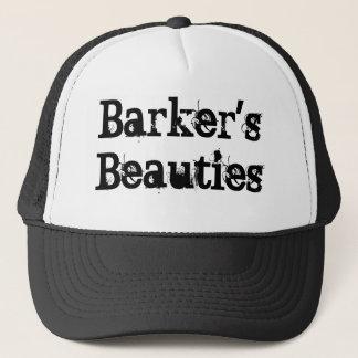 Barkerの美しいのトラック運転手の帽子 キャップ