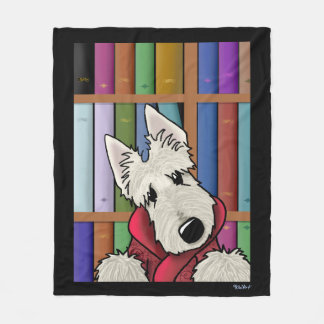 Barkley Scottish Terrier主のフリースブランケット フリースブランケット