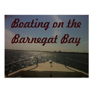 Barnegat湾の船遊び ポストカード