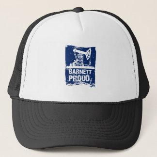 Barnettの誇りを持ったな帽子の青 キャップ