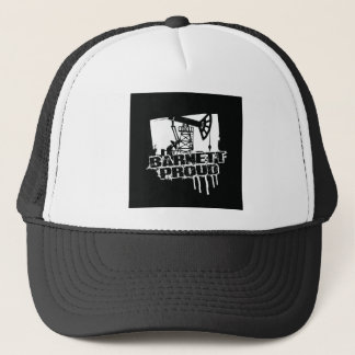 Barnettの誇りを持ったな帽子の黒 キャップ