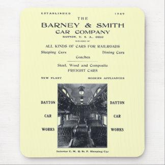 Barney & Smith Railroad Car Company 1906年 マウスパッド