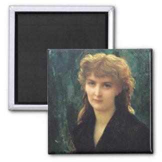 Baronness Eleonoreのd'Uckermann 1884年 マグネット