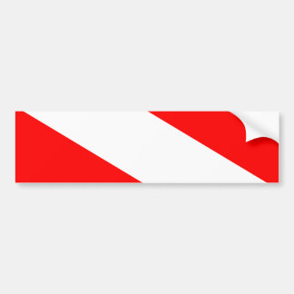 Barotselandの旗 バンパーステッカー