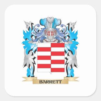 Barrettの紋章付き外衣 スクエアシール