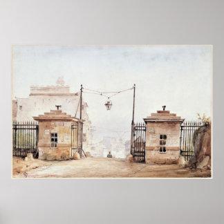 Barriere de Menilmontant ポスター