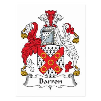 Barronの家紋 ポストカード