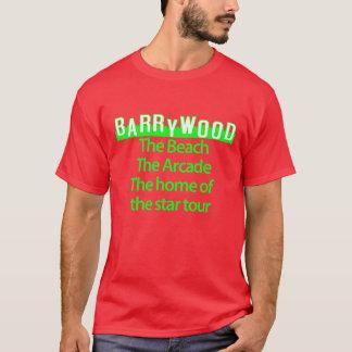 barrywoodの赤 tシャツ
