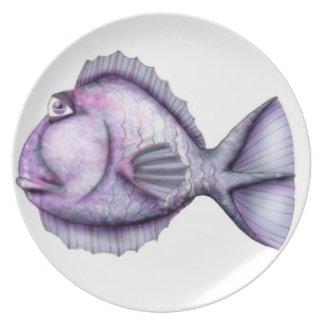 Bartleby魚 プレート