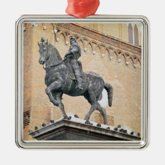Bartolommeo Colleoni (1400-の乗馬記念碑 メタルオーナメント