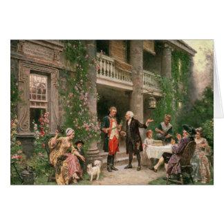 Bartramの庭のジョージ・ワシントン カード