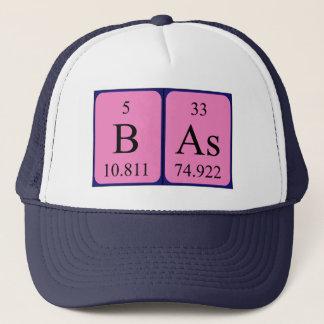 Basの周期表の名前の帽子 キャップ