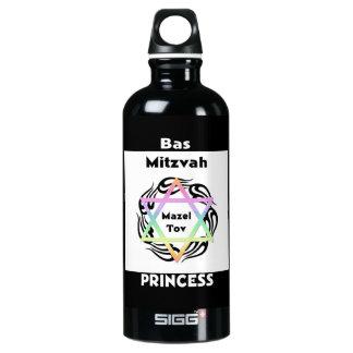 Bas (ユダヤ教の)バル・ミツバーのプリンセス ウォーターボトル