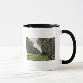 Bas-Breau、フォンテンブローへのクロード・モネ|の道 マグカップ