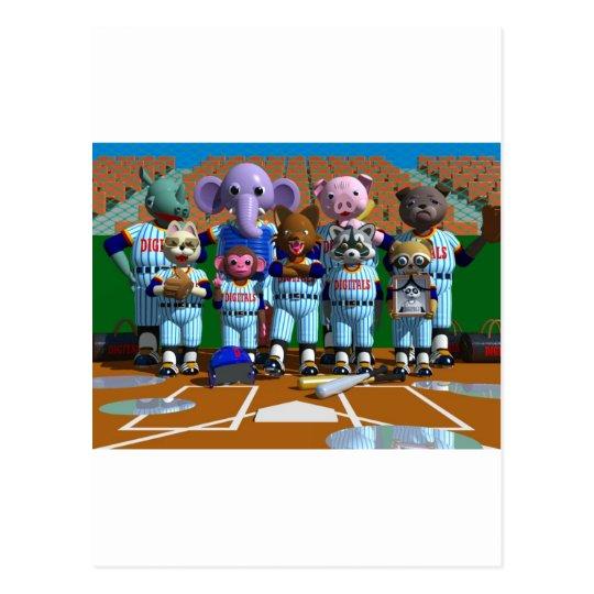 Baseball ポストカード