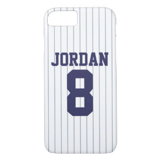 Baseball Jersey with Number iPhone 8/7ケース