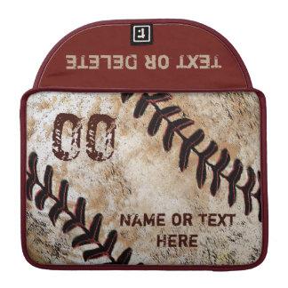 Baseball Personalized MacBook Pro Case 13, 15 in MacBook Proスリーブ