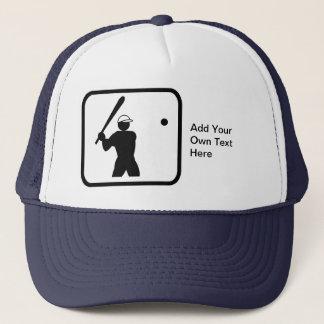 Baseballerのカスタマイズ可能なロゴ キャップ