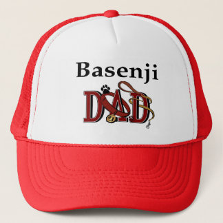 Basenjiのパパのギフト キャップ