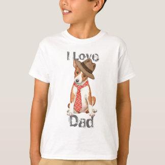 Basenjiのパパ Tシャツ