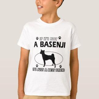 BASENJIの親友のデザイン Tシャツ