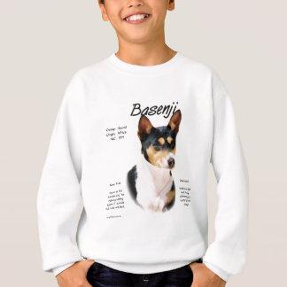 Basenjiの(三色の)歴史のデザイン スウェットシャツ