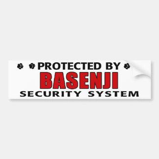 Basenji犬の保証 バンパーステッカー