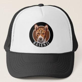 Basenji犬002 キャップ