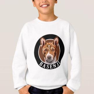 Basenji犬002 スウェットシャツ