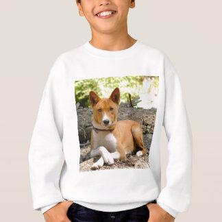 Basenji犬 スウェットシャツ