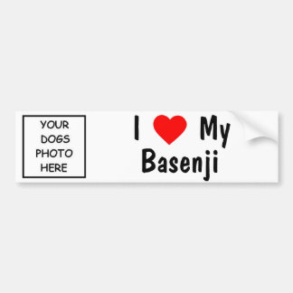 Basenji バンパーステッカー