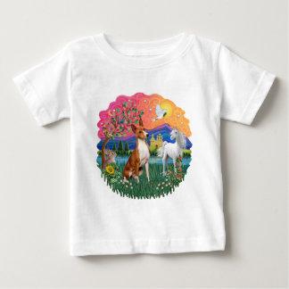 Basenji ベビーTシャツ