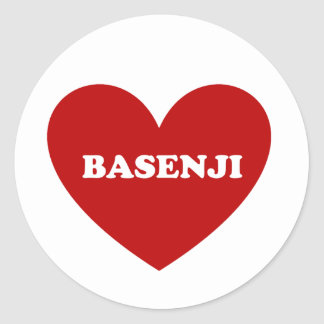 Basenji ラウンドシール