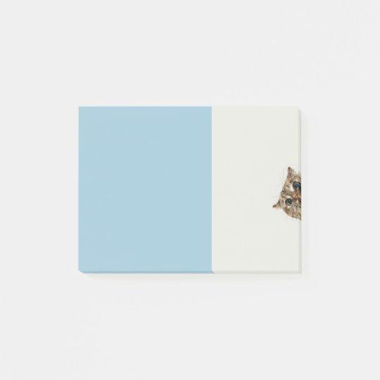 bashful kitty note pad ポストイット