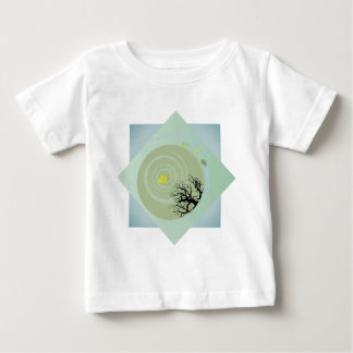Bashoの池 ベビーTシャツ