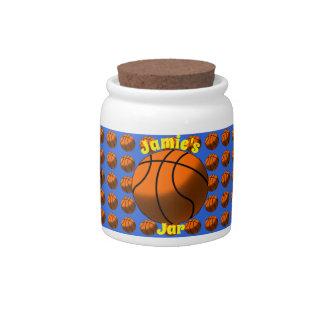 Basketball Candy Jar キャンディー皿